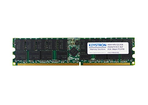 MEM-NPE-G2-2GB 2GB Cisco 7200 NPE-G2 3rd Party Main Memory by Keystron