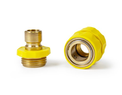 Camco 20143 Quick Hose Connector with Flow-Through Connection