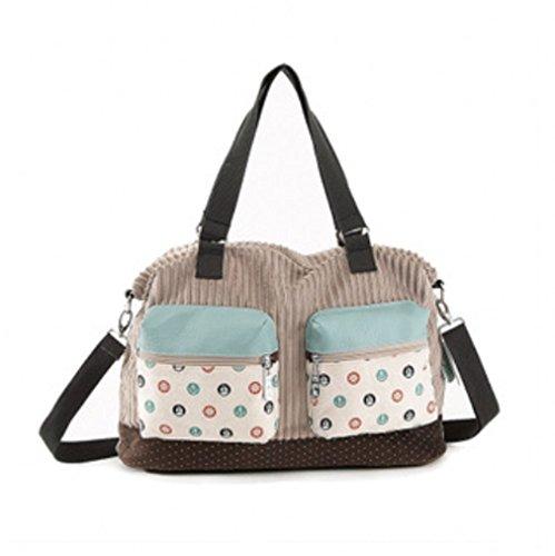 Flyco Womens Girls Modern Fashion Backpack Double Size Pocket Zipper Bag