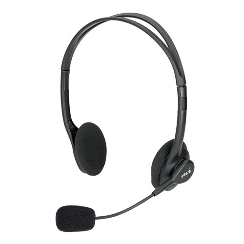 Micro Innovations Lightweight Headset (MICRO INNOVATIONS MM720HB Lightweight Multimedia Headset with Microphone)