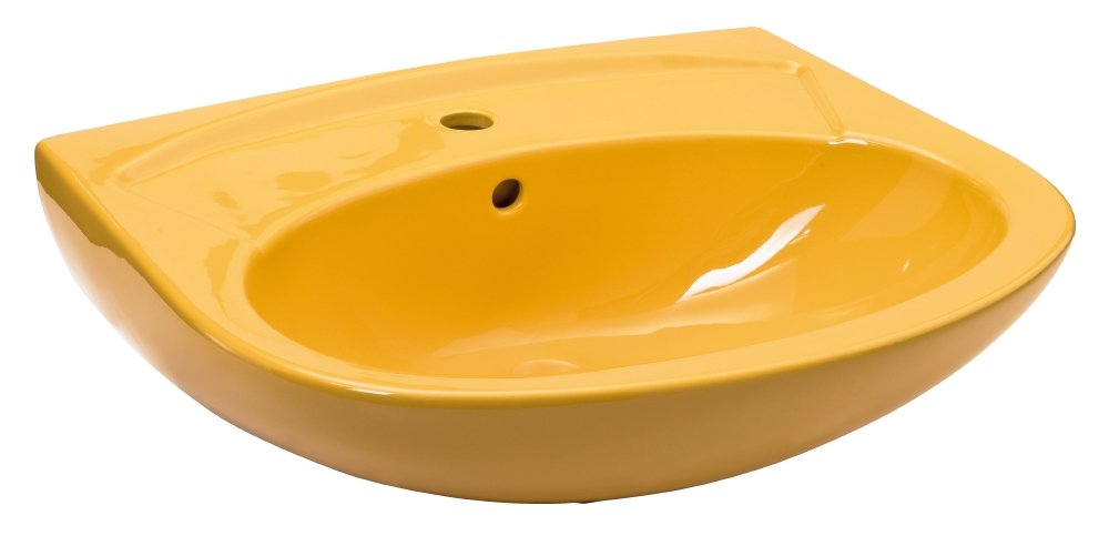 Waschtisch   60 cm   Curry   Waschbecken
