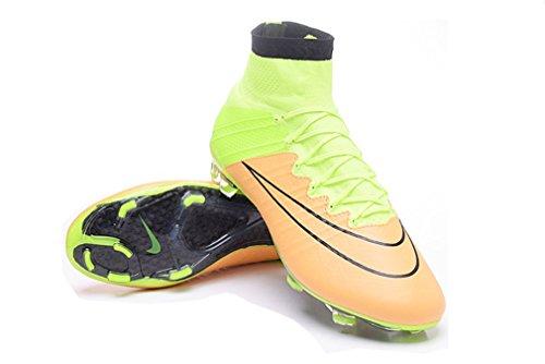 "Homme Mercurial x Superfly V FG en cuir avec ACC ""Football Chaussures Bottes de Football"
