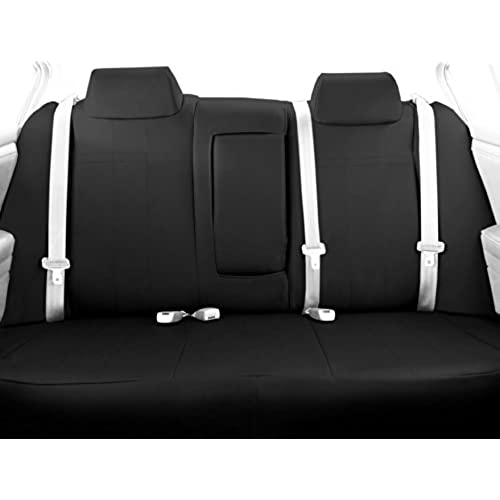 CalTrend Middle Row 40 60 Split Bench Custom Fit Seat Cover For Select Toyota Highlander Models