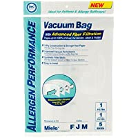 Miele FJM DVC Brand Allergen Bags 5 Pack