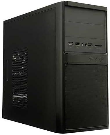 Unyka 51957 - Caja de Ordenador de sobremesa ATX (Fuente de alimentación de 500 W) Negro: Amazon.es: Informática