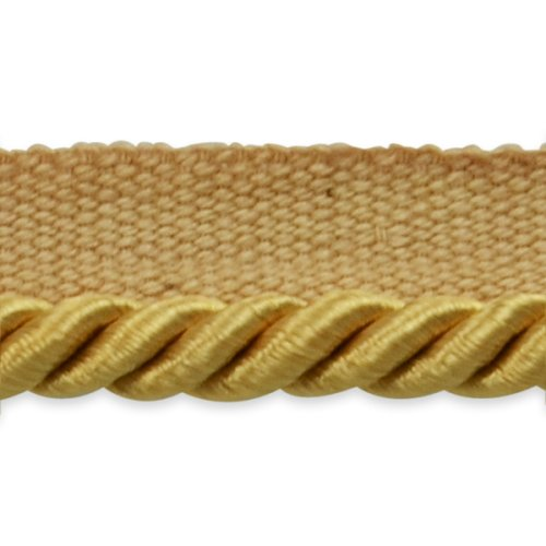 5 Yards of Emmerson 1//4 Twisted Lip Cord Trim