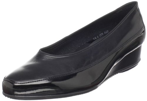 Ara Leather Heels (ara Women's Aron2 Slip-On,Black Patent Leather,10 M US)