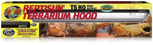 """41 LEAlyn5L - Zoo Med 26053 Reptisun T5-Ho Terrarium Hood, 24"""""""