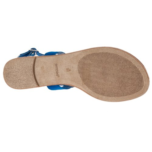 Bamboo Bamboo Womens Microsuede Womens Detail Blue Sparkling Morris Sandals q5H7O