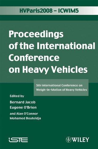 - ICWIM 5, Proceedings of the International Conference on Heavy Vehicles: 5th International Conference on Weigh-in-Motion of Heavy Vehicles (Iste Book 339)
