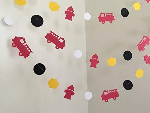Guirnalda de papel para fiesta de cumpleaños con diseño de ...