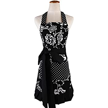 flirty aprons plus size Womens apron original sassy black $2695 flirtyaprons vintage aprons, retro aprons, old fashioned aprons & patterns womens apron original very nvl 1940s apron with applique pattern 40 42 bust plus size 1104 1930s ladies apron in any size- plus size included- depew 6105 -instant download.