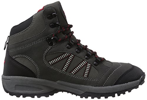 Lico Rancher High, Mens Trekking and Hiking Boots Grey (Grau/Schwarz/Rot)