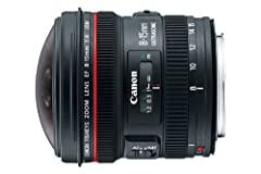 For filmmakers and photographers who want the look and feel only possible with extreme wide angle and fisheye photography, the new Canon EF 8-15mm f/4L Fisheye USM is a world-class choice. With its unique focal length range, the EF 8-15mm f/4...