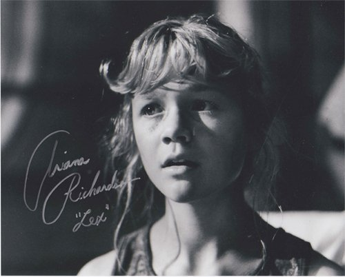 Ariana Richards - Official Autographed 8 x 10 Jurassic Park Photo