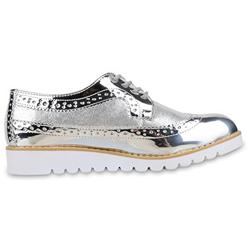 napoli-fashion - Plataforma Mujer plata
