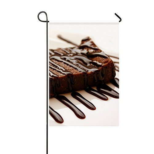 ENEVOTX Ant Garden Flag Brownies Dessert Cream Chocolate 12x18 Inches(without Flagpole) ()