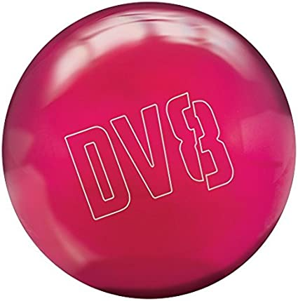 DV8 Polyester 6 LB Bowling Ball New Just Black With Free Bowling Bag!
