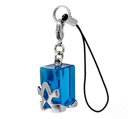 Amazon.com: Sword Art Online Transition Crystal Charm Strap ...