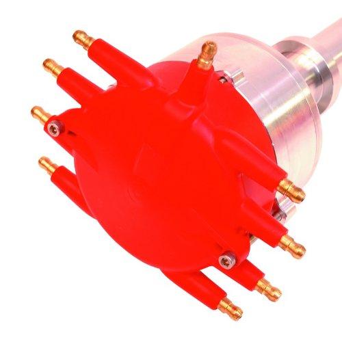MSD 84891 Flat Top Pro-Billet Distributor with Crab Cap