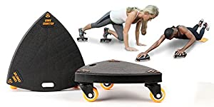 Core Coaster - Ab, Core and Total Body Exercise System (2 Core Coasters)