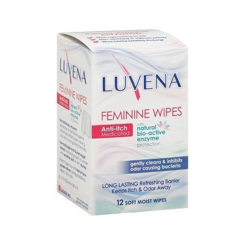 Wholesale Luvena Anti-Itch Wipes - Medicated - 12 Pack,  by
