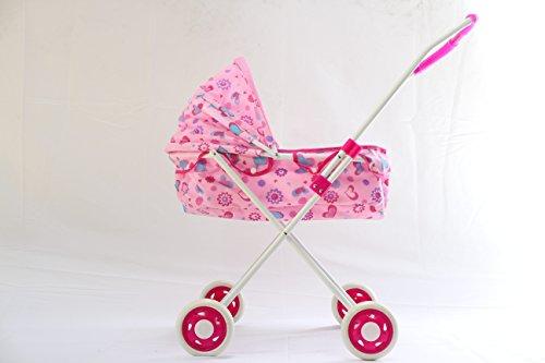 dable Baby Doll Stroller, Pink (Folding Doll Umbrella Stroller)