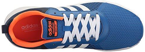 Chaussure De Course Adidas Neo Homme Cloudfoam Mercury Bleu / Blanc / Collégial Marine