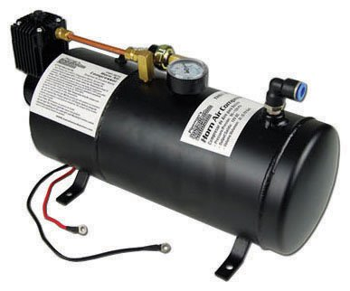 New Nippon Pipeman THSY3075C 12V 0.79 Gallon Car High Output Horn Air Compressor from Nippon
