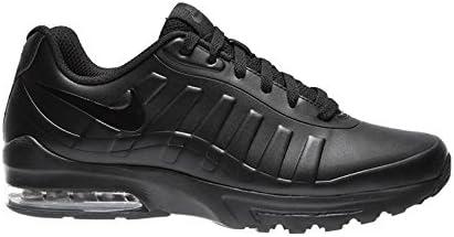 Nike air max invigor, scarpe da corsa uomo, nero (black