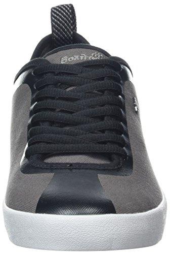 Charcoal Chr Gris Homme Baskets Boxfresh Calvict 56SqH6OB
