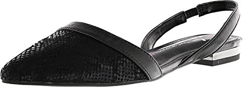Isaac Mizrahi Live! Womens Grace Leather Ankle-High Flat Shoe Black KPycw81SQ