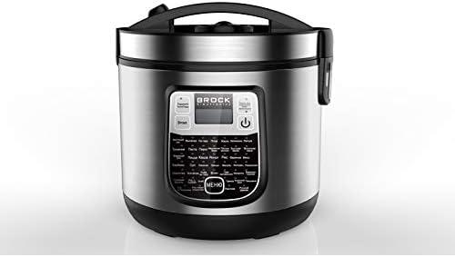 Brock Electronics Mc-4501 Robot de Cocina Multifunción, 700 W, 5 litros, 5 Decibeles, Acero Inoxidable, 45 Velocidades, Plateado: Amazon.es: Hogar