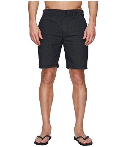 Walkshort Black Clothing - Hurley Men's Dri-FIT Chino Walkshorts 19
