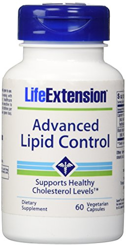 Life Extension Advanced Lipid Control, Veg Tablets, 60-Count