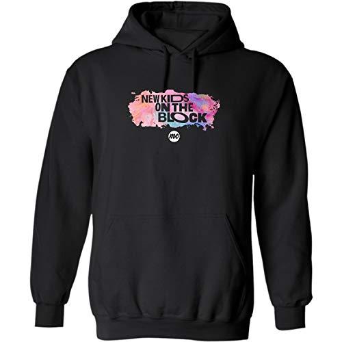 #NKOTB On The-Blocks New Kids Vintage Gifts Hoodie-New-Kid tee on-Blocks Costume (Black - XL)