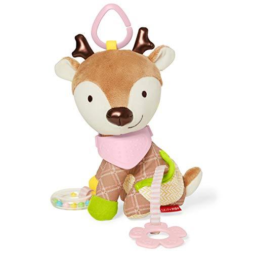 DINO Baby Rattle Teether BNIP Skip Hop BANDANA BUDDIES ACTIVITY TOY