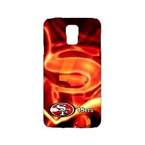 RAROFU Professional football team san francisco 49ers Custom Case for Samsung Galaxy S5 3D