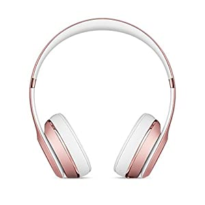 Beats Solo3 Wireless On-Ear Headphones – Rose Gold (Renewed)