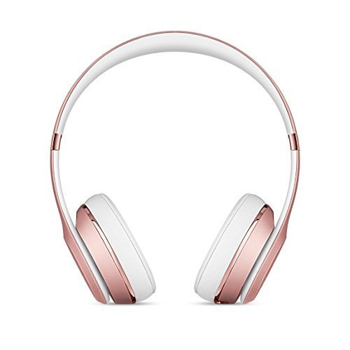 Beats Solo3 Wireless On-Ear Headphones – Rose Gold (Certified Refurbished)