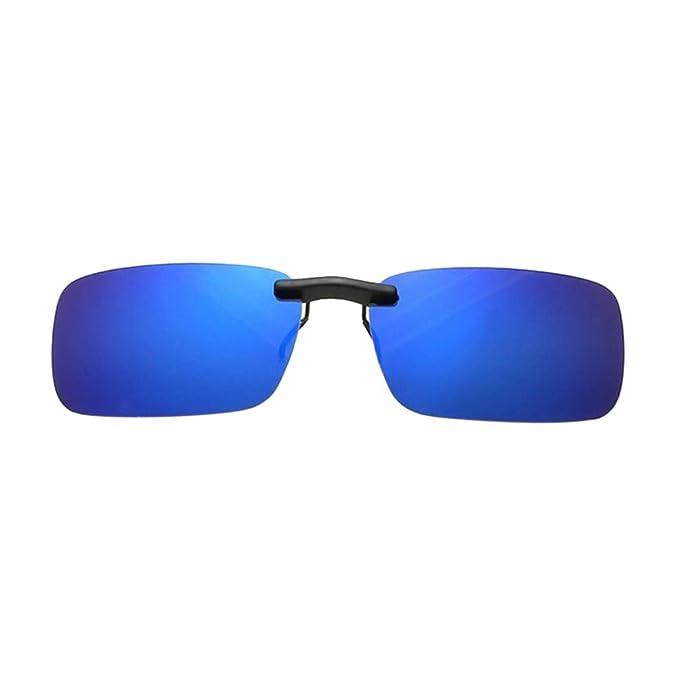 Haodasi Frauen Männer Polarisiert Flip-up Sonnenbrille Driving Lenses Clip-on With Case 6S6IYq