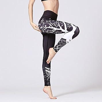 JIALELE Pantalon Yoga Pantalones De Yoga Sello Digital ...