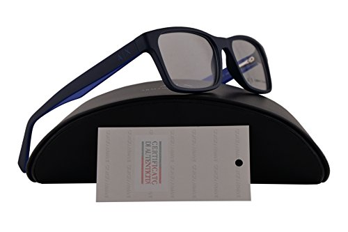 Armani Exchange AX3038 Eyeglasses 54-17-140 Matte Dark Blue w/Clear Demo Lens 8198 AX 3038 (Sale On Exchange Armani)