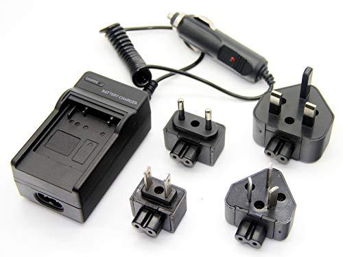 FidgetKute Battery Charger for Olympus u720SW u725SW u740 u750 u760 u770SW u780 u790SW u820
