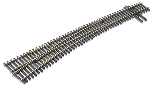 Peco HO Scale Code 83 Insulfrog Number 7 Curved Left-Hand ()