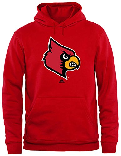 Adidas University of Louisville Cardinals Mens Sweatshirt Red Size 2XL
