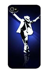 Freshmilk New Arrival Iphone 4/4s Case Michael Jackson Case Cover/ Perfect Design