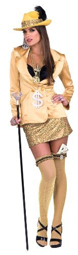 Rubie's Costume Co Adult Madame Moe Pimp Costume - Womens Std. -