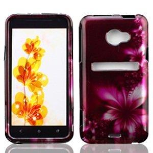 bundle-accessory-for-sprint-htc-evo-4g-lte-purple-daisy-hard-case-protector-cover-lf-stylus-pen-lf-s