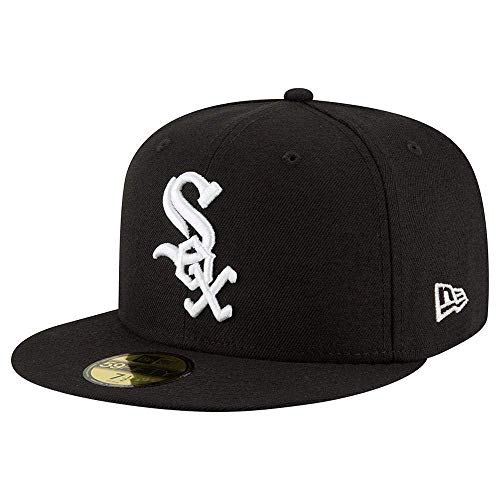 New Era 59FIFTY Chicago White Sox MLB 2017 Authentic Collection On Field Game Cap Size 7 1/4